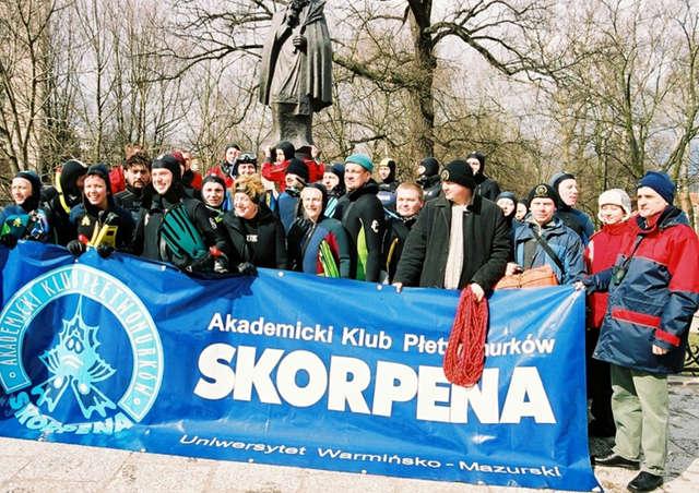 Z archiwum Nurkowej Polski: I Skorpenowy Spływ Łyną - full image