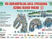 VIII Ogólnopolska Akcja Sprzątania Jeziora Oleckie Wielkie