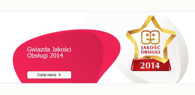 Gwiazda Jakości Obsługi 2014 dla Ergo Hestii - full image