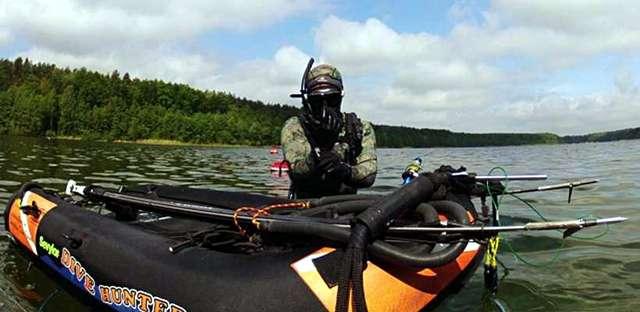 Kusza dla rozpoczynających przygodę z podwodnymi łowami. - full image