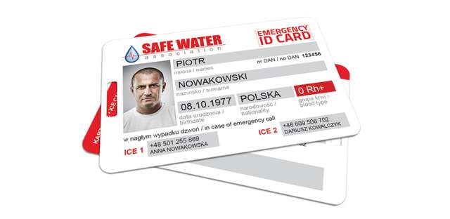 Projekt Emergency ID Card - full image