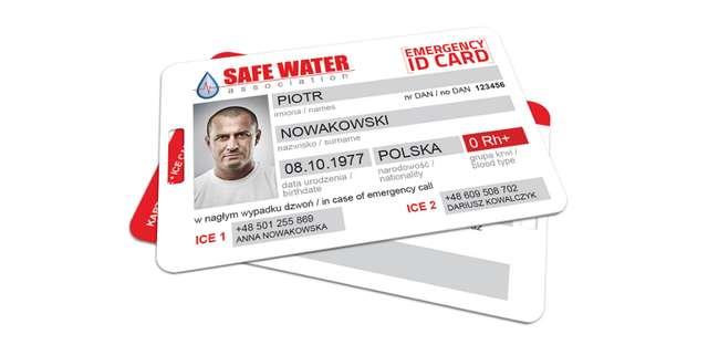 Projekt Emergency ID Card - full image