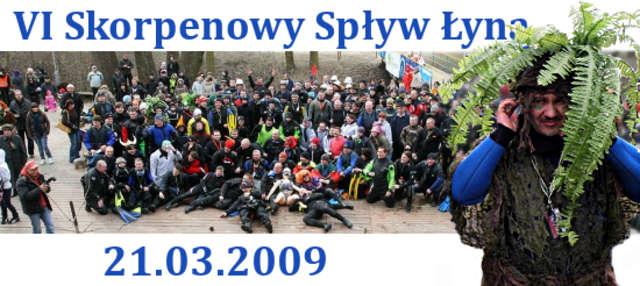 Z archiwum Nurkowej Polski: VI Skorpenowy Spływ Łyną - full image