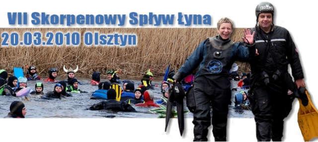 Z archiwum Nurkowej Polski: VII Skorpenowy Spływ Łyną - full image