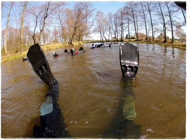 VII wiosenny spływ rzeką Omulew ODMULANIE OMULWI PO RAZ SIÓDMY - full image
