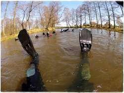 VII wiosenny spływ rzeką Omulew ODMULANIE OMULWI PO RAZ SIÓDMY