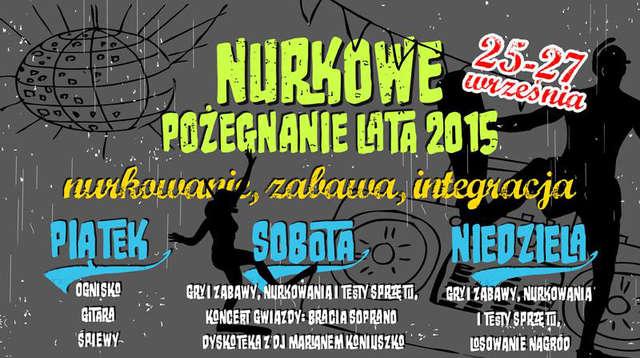 Nurkowe Pożegnanie Lata 2015 - full image