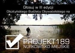 Nurkowisko miejskie w Olsztynie.