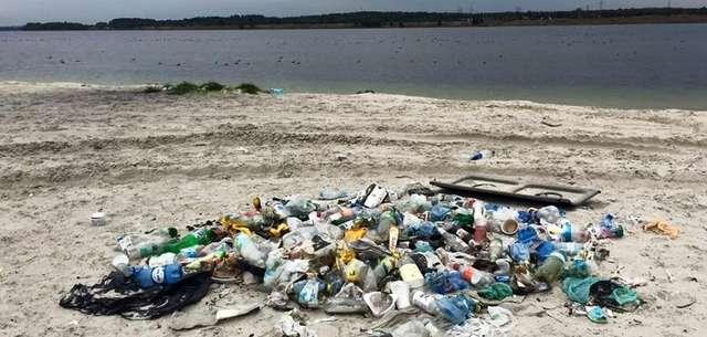 Sprzątanie Pogorii 4 - rejon od strony Wojkowic - full image