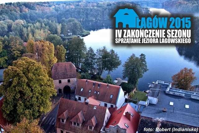 Sprzątanie Jeziora Łagowskiego - Zakończenie sezonu 2015 SSPoland - full image