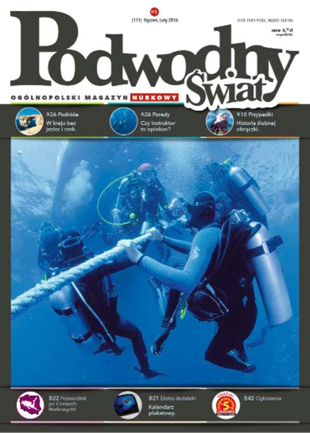 Podwodny Świat 1/2016 - full image