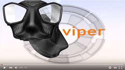 Maska VIPER z kolekcji 2016 Mares