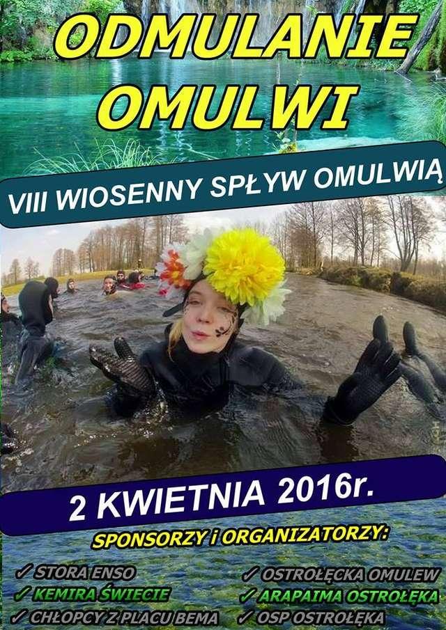 8 Wiosenny Spływ Omulwią Odmulanie Omulwi - full image