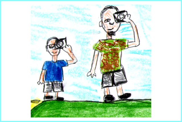 Sudawcy. Ojciec i syn o Suwalszczyźnie - full image