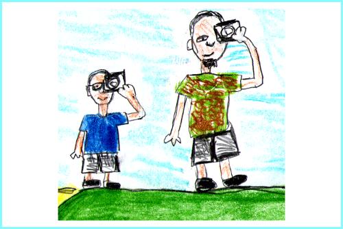 Sudawcy. Ojciec i syn o Suwalszczyźnie