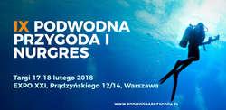 IX Targi Nurkowe Podwodna Przygoda 2018 i Nurgres