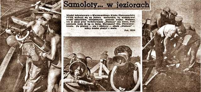 """Podwodne poszukiwania czyli """" Akcja Stukas II"""" - full image"""