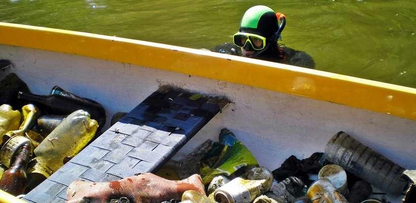 Jak zorganizować podwodne sprzątanie?