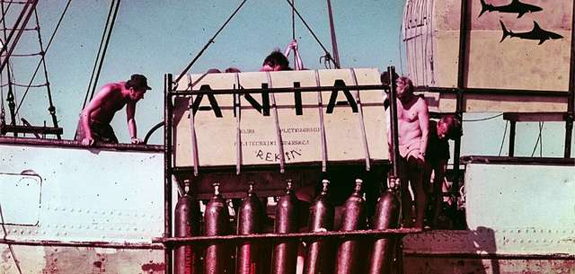 """Wrak Wilhelm Gustloff - część 2 """"Rekiny atakują"""" - full image"""