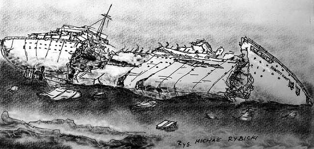 """Wrak Wilhelm Gustloff - część 4 """"Rekiny powracają"""" - full image"""